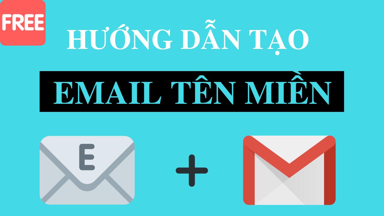 Cách tạo email gắn với tên miền riêng và tích hợp quản lí dễ dàng trong gmail