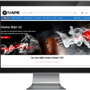 Giao diện website bán hàng điện tử