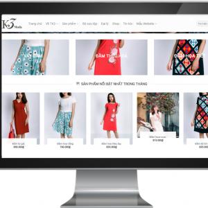 Giao diện shop bán hàng thời trang Fashion 4