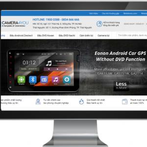 Giao diện Website kinh doanh Đồ Công Nghê , Camera