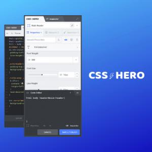 CSS Hero – Lifetime License
