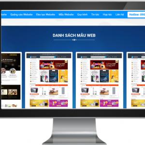 Giao diện Website dành cho đơn vị Thiết Kế Web