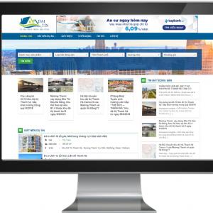 Giao diện Website đăng tin Bất Động sản 3