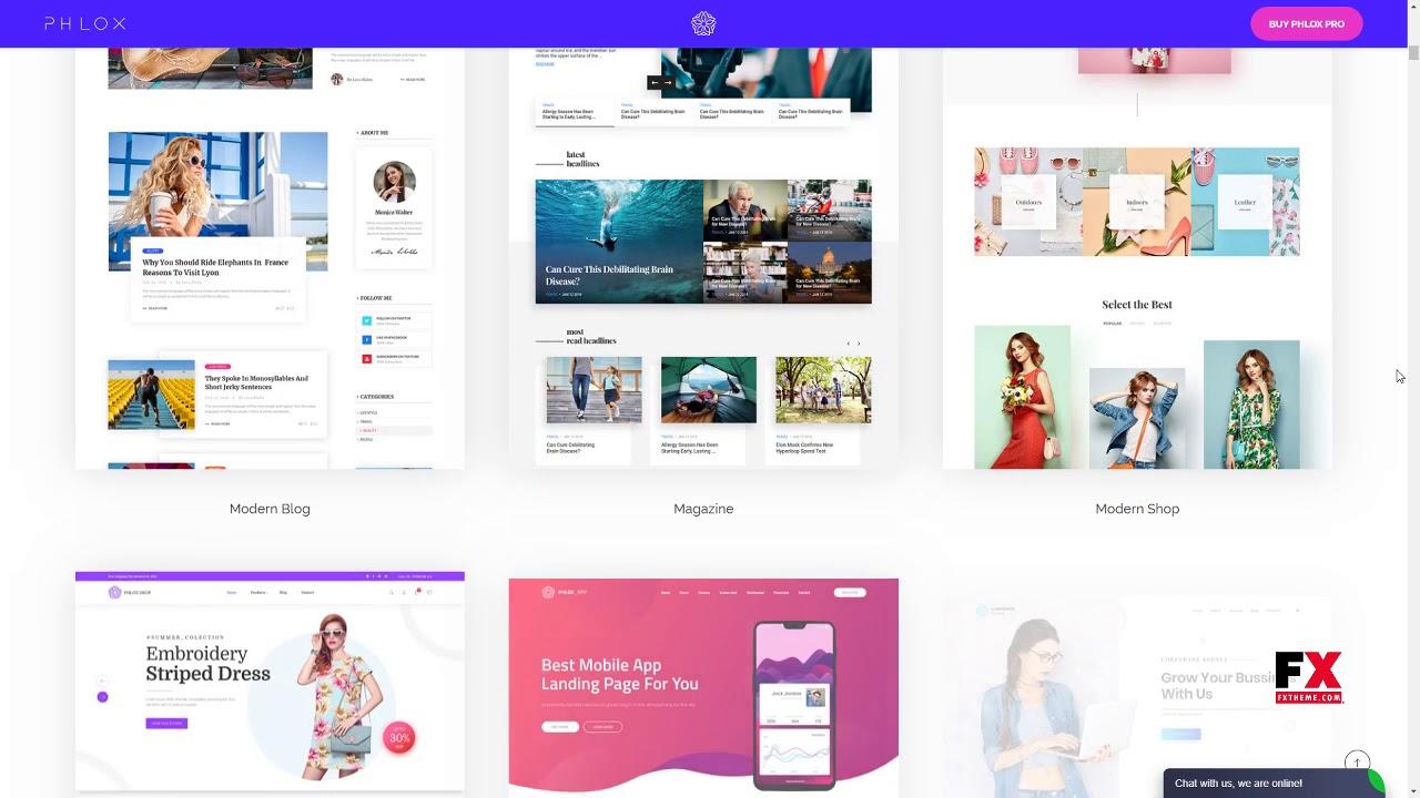 Theme dùng để thiết kế website HOT nhất hiện nay