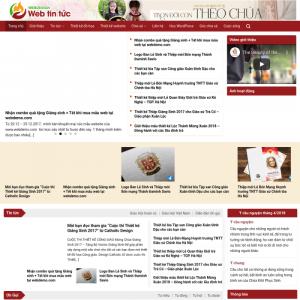 Mẫu web tin tức 2