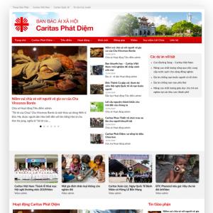 Giao diện website tin tức xã hội