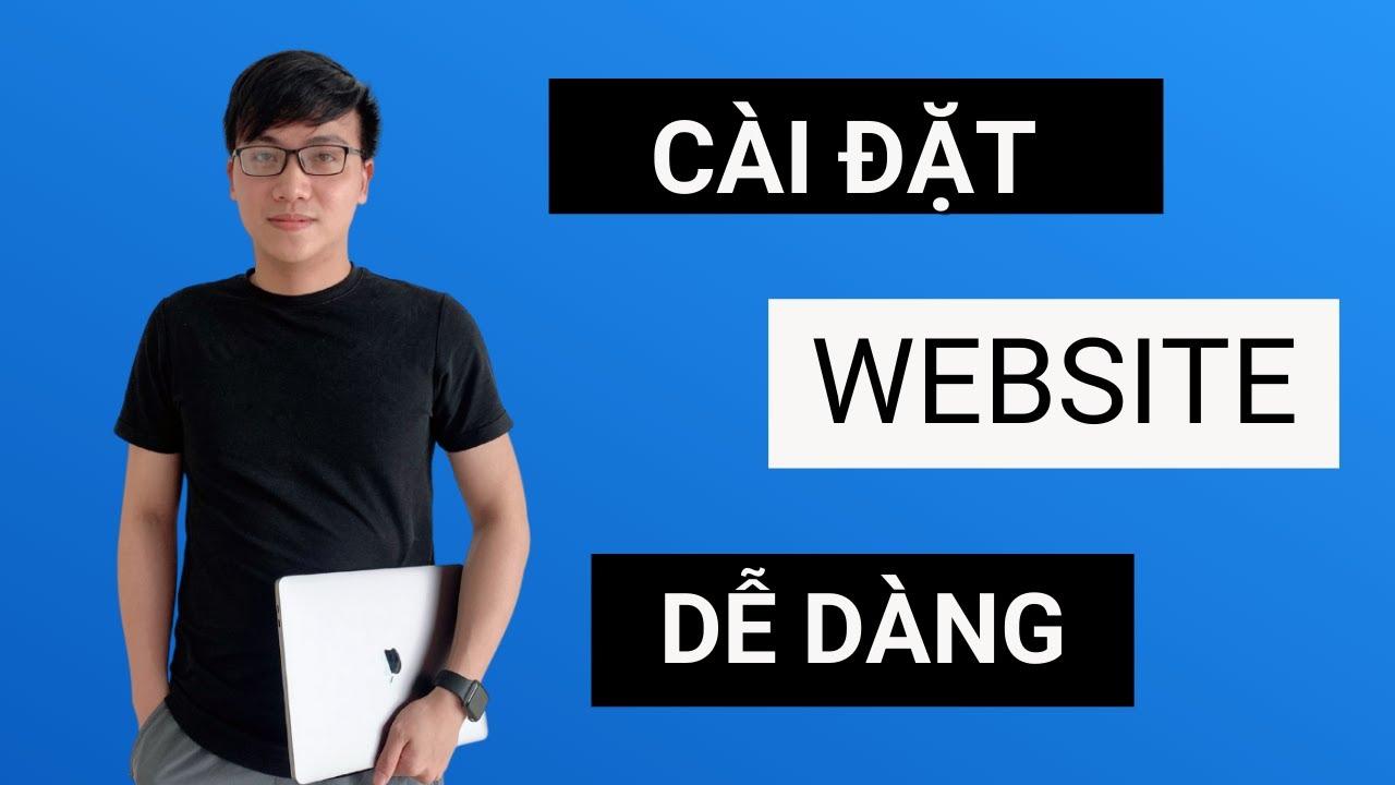 Cách Cài Đặt Website WordPres chỉ với 3 BƯỚC